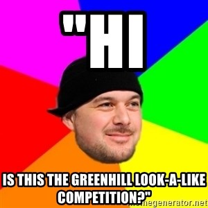 "King Kool Savas - ""HI IS THIS THE GREENHILL LOOK-A-LIKE COMPETITION?"""