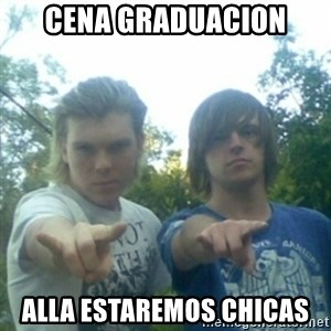 god of punk rock - cena graduacion alla estaremos chicas