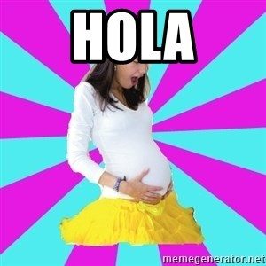 typical pregnant - hola