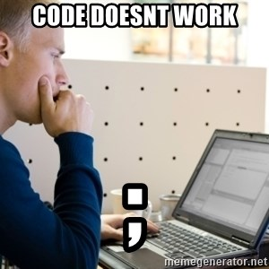 Computer Programmer - Code doesnt work ;