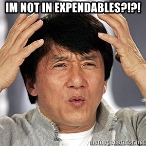 Jackie Chan - im not in expendables?!?!