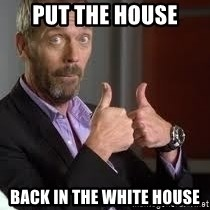 cool story bro house - Put the house back in the white house