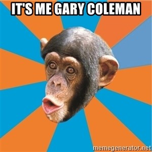 Stupid Monkey - it's me gary coleman
