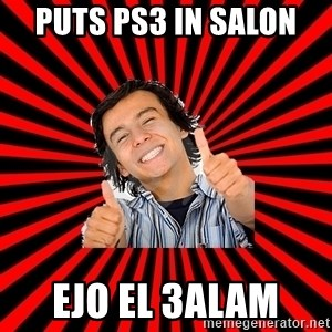 Bad Luck Chuck - PUTS PS3 IN SALON  EJO EL 3ALAM