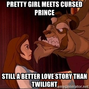 BeastGuy - Pretty girl meets cursed prince Still a better love story than Twilight