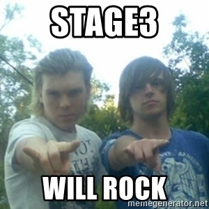 god of punk rock - STAGE3 WILL ROCK
