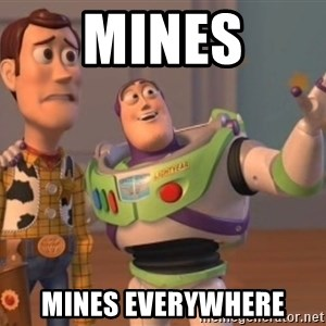 ToyStorys - Mines mines everywhere