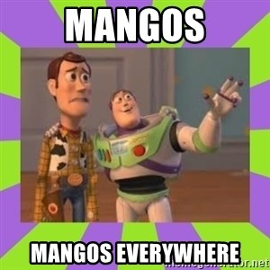 X, X Everywhere  - mangos mangos everywhere