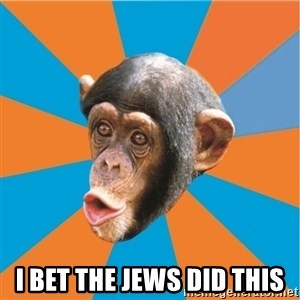 Stupid Monkey - i bet the jews did this