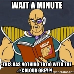 El Arte de Amarte por Nappa - wait a minute this has nothing to do with the colour grey?!