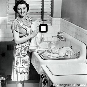 50s Housewife - .