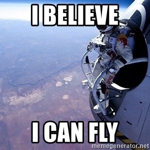 felix baumgartner - I believe i can fly