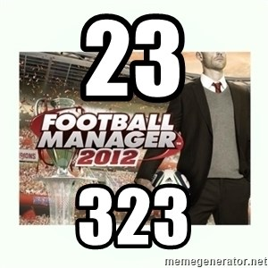 football manager 2013 - 23 323