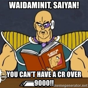 El Arte de Amarte por Nappa - Waidaminit, Saiyan! You can't have a cr over 9000!!