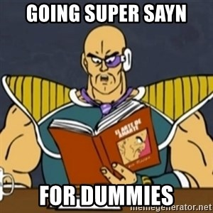 El Arte de Amarte por Nappa - GOING SUPER SAYN FOR DUMMIES