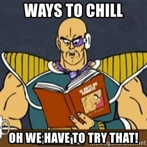 El Arte de Amarte por Nappa - ways to chill oh WE have to try that!