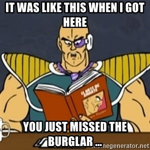 El Arte de Amarte por Nappa - IT WAS LIKE THIS WHEN I GOT HERE YOU JUST MISSED THE BURGLAR ...