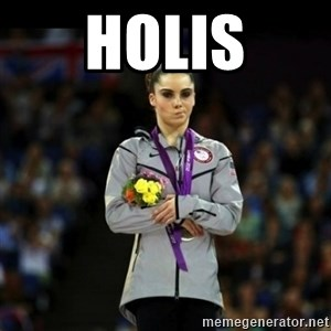 Unimpressed McKayla Maroney - holis