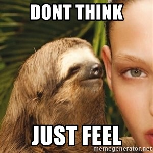 The Rape Sloth - dont think just feel