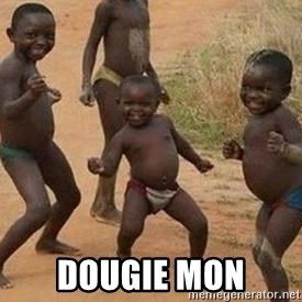 african children dancing - dougie mon
