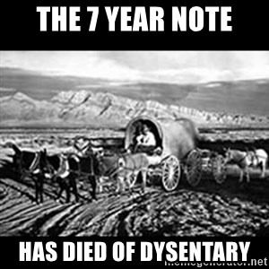 Oregon Trail Vindictus - THE 7 YEAR NOTE HAS DIED OF DYSENTARY