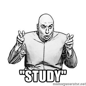 "Sceptical Dr. Evil - ""Study"""
