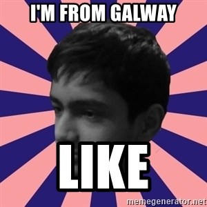 Los Moustachos - I would love to become X - I'm from galway like