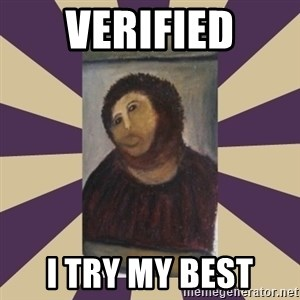 Retouched Ecce Homo - Verified I TRY MY BEST