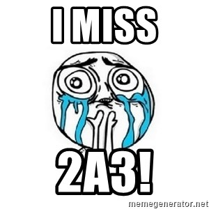 crying - I MISS 2A3!