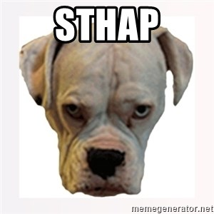 stahp guise - STHAP