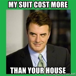 Mr.Big - My suit cost more than your house