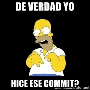 look-marge - de verdad yo hice ese commit?