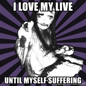DSBM - i love my live until myself suffering