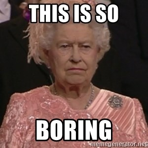 the queen olympics - THIS IS SO BORING