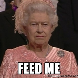the queen olympics - FEED ME