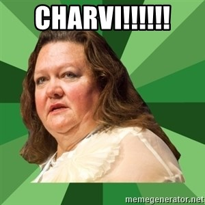 Dumb Whore Gina Rinehart - CHARVI!!!!!!