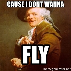 Joseph Ducreux - cause i dont wanna fly