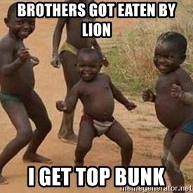 african children dancing - BROTHERS GOT EATEN BY LION  I GET TOP BUNK