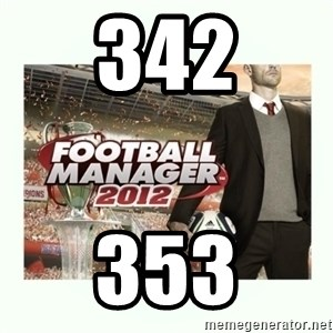 football manager 2013 - 342 353
