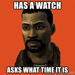 Lee Everett - Has a watch asks what time it is