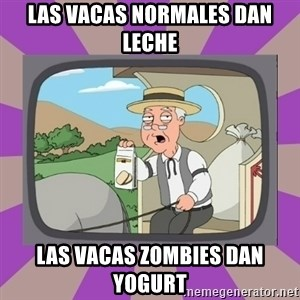 Pepperidge Farm Remembers FG - Las vacas normales dan leche las vacas zombies dan yogurt