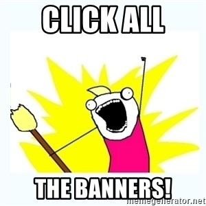 All the things - click all the banners!