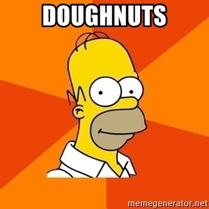 Homer Advice - DOUGHNUTS