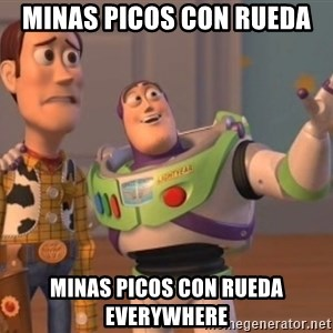 buzz light - minas picos con rueda minas picos con rueda everywhere