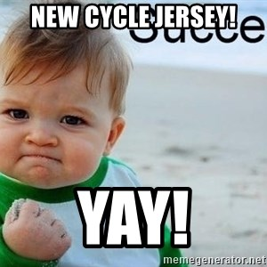 success baby - New cycle Jersey! Yay!