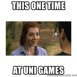 This one time at band camp - This one time at uni games