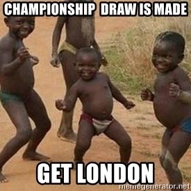 african children dancing - Championship  draw is made Get london