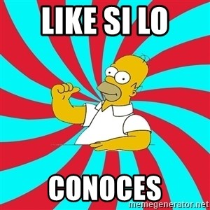 Frases Homero Simpson - LIKE SI LO CONOCES