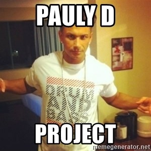 Drum And Bass Guy - PAULY D PROJECT
