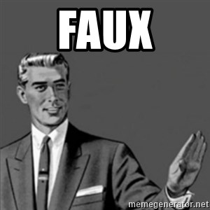 Correction Guy - faux